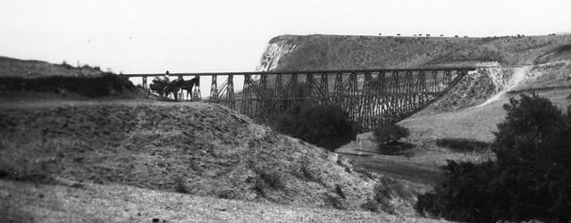 Old Rindge Railroad Trestle