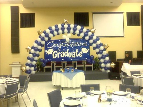 Graduation Balloon Arch | Flickr - Photo Sharing!