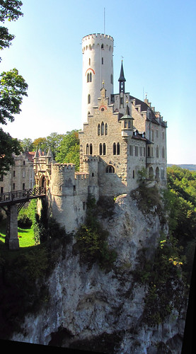 Romantische Burg Lichtenstein - Gothic Revival Castle in Baden-Württemberg,  Germany