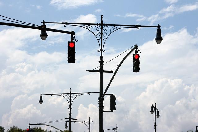 NYC traffic lights