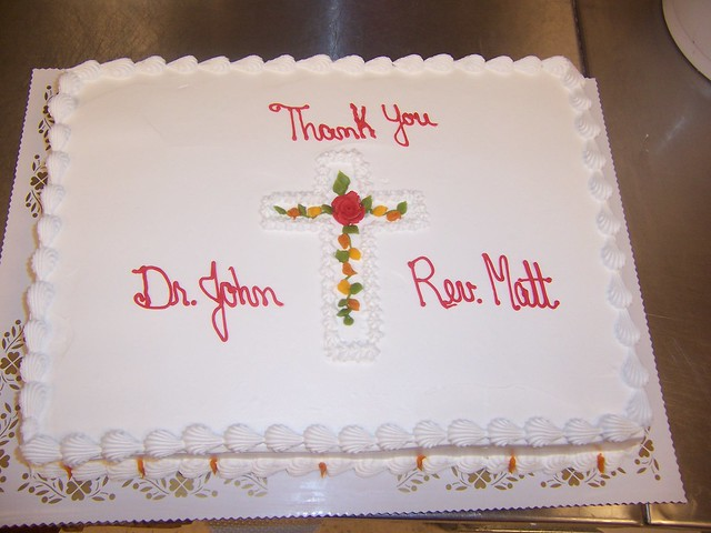 Pastor Appreciation Cake http://www.flickr.com/photos/34342724@N04/4028461417/