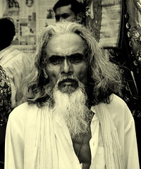 The old man from Dhaka