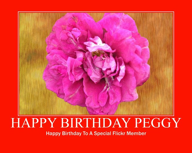 happy birthday peggy image