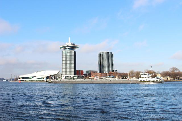 Amsterdam et la mer