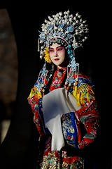 Beijing Opera. The Drunken Beauty