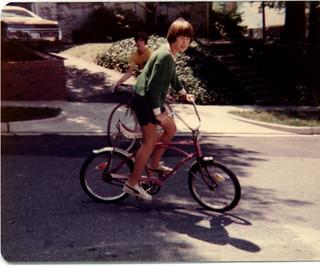 Bruce on my bike