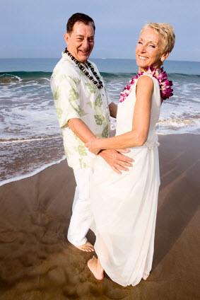 Beach Wedding Older Couple Remarriage Flickr Photo