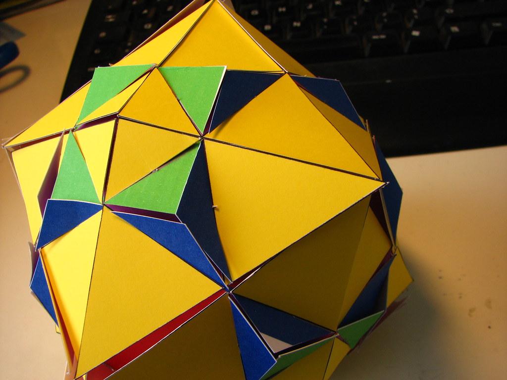 Truncated Octahedron Tetrakis Hexahedron Compound