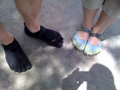 hand(0.0), shoe(0.0), barefoot(0.0), human body(0.0), footwear(1.0), finger(1.0), limb(1.0), leg(1.0), foot(1.0),