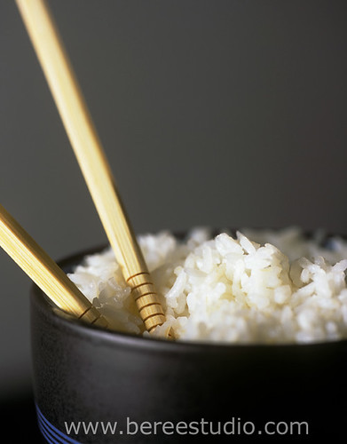 Table Manners: don't stick your chopsticks in rice