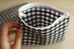 small bags (gingham)