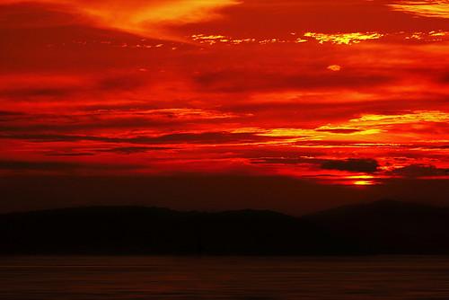 china sunset sea cloud glory xiamen 中国 fujian 海 日落 厦门 黄昏 福建 夕阳 灿烂 火烧云 港口 辉煌