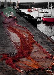 La red// The fishing net