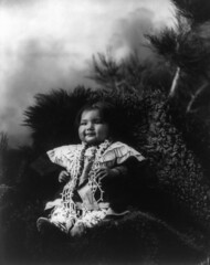 Two Shawl, Dakota Sioux girl, by Heyn & Matzen, 1900