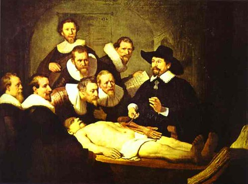 Rembrandt van Rijn (1606-1669) - 1632 Doctor Nicolaes Tulp's Demonstration of the Anatomy of the Arm