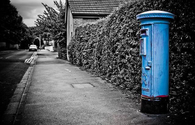 206:365 - Feeling blue...