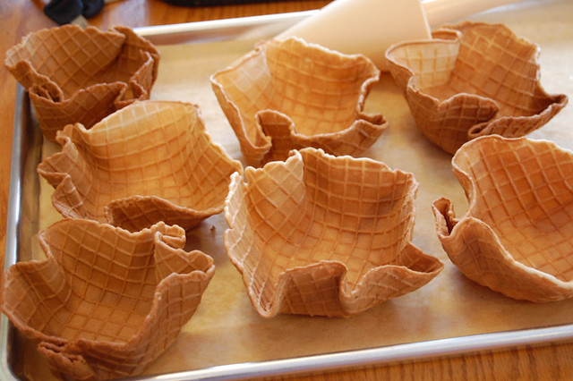 Waffle Cone Recipe Waffle Cones by Just