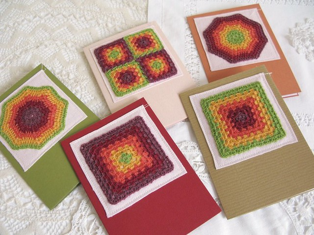 Granny chic greeting cards | Emma Lamb