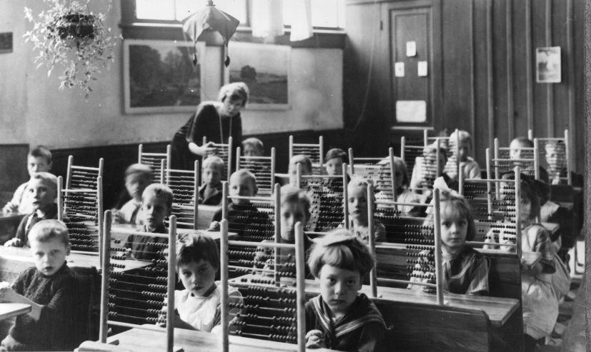 These children look about as excited as I was during every grad school lecture.