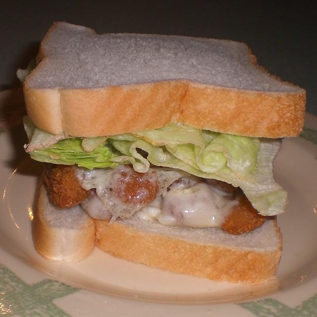 Fish sandwich flickr photo sharing for Fish stick sandwich