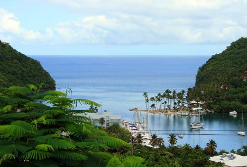 cruise caribbean royalcaribbean stlucia marigotbay adventureoftheseas