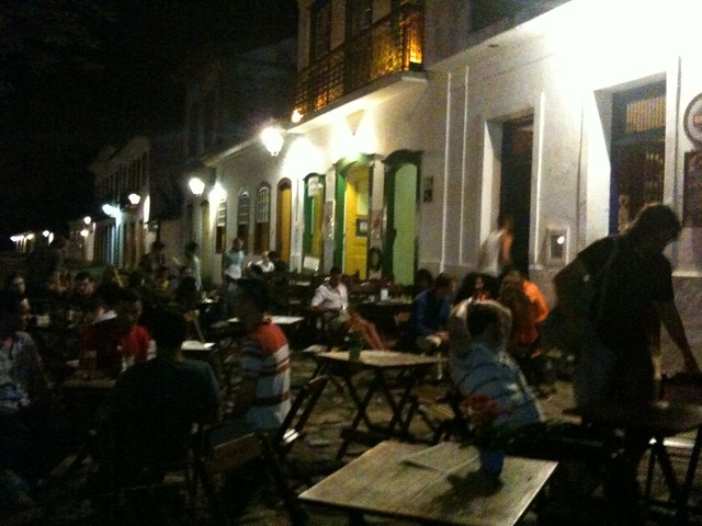 Paraty night life