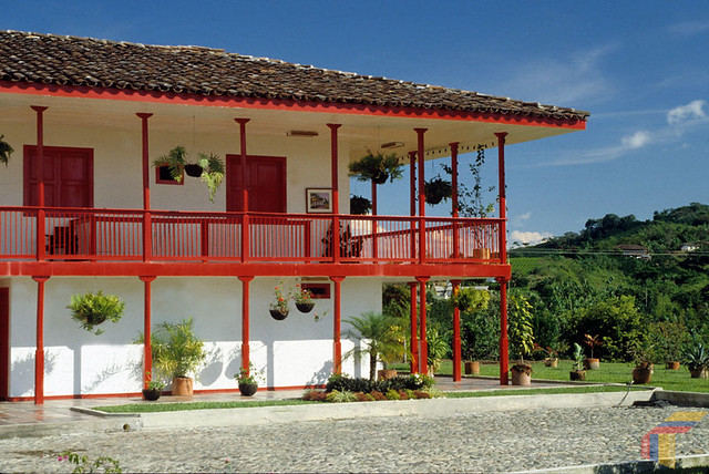 Imagen de una de las Fincas Cafeteras Turísticas del Quindio