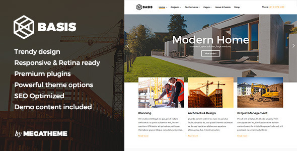 Basis v1.0.2 – Construction Business WordPress Theme