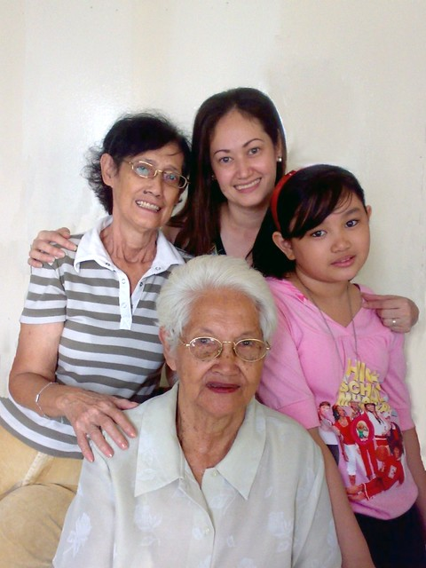 Four Generations in One Photo... Priceless!