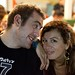 Small photo of Agnieszka and her friend Dermot