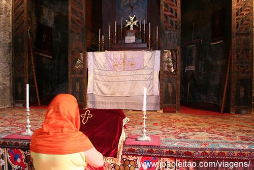Mosteiro de Sevan na Arménia