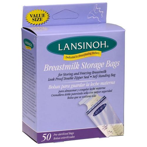 NEW!!! BPA FREE Lansinoh Milk Bags 50ct