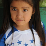 Honduran Football Fan - La Esperanza, Honduras