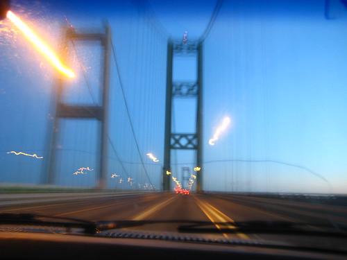 Crossing Tacoma Narrows Bridge