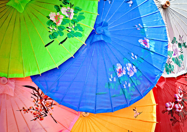 Daily Disney - Epcot China Parasols (Explored)