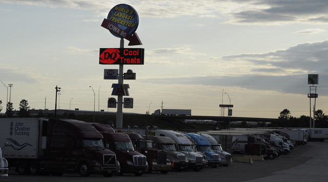 Largest Truck Stop http://www.flickr.com/photos/ap0013/3802157780/