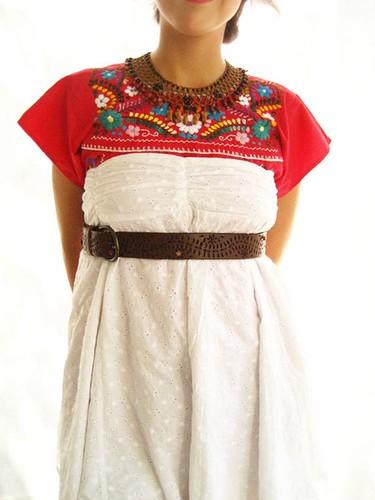impressive outfit vestido mexicano 2017