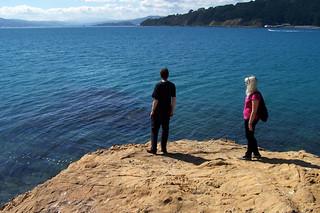 Image de Oriental Beach près de Wellington. sea beach blueskies