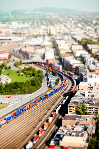 Vancouver Railtown Tilt-Shift