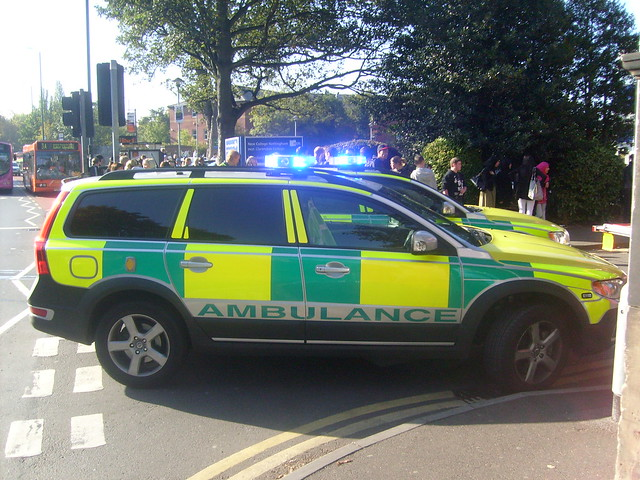 East Midlands Ambulance Service Volvo's BX09 BXD And BX09 BXE