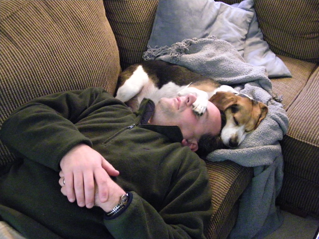 128/365/493 (October 17, 2009) - Corey and Flapjack on a Lazy Saturday Afternoon