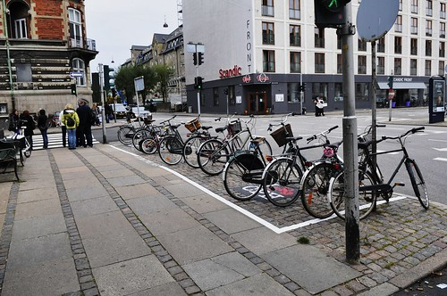 Copenhagen Bike Parking Zone