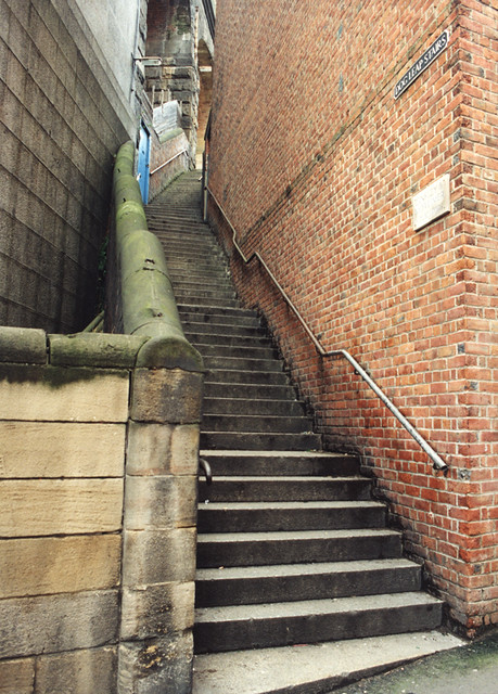 Dog Leap Stairs, Newcastle