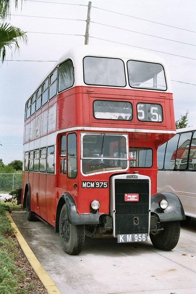 Birkenhead Corporation -MCM 975 Leyland PD