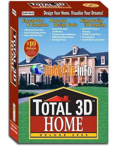Hf portable total 3d home design deluxe v8 0 descargar gratis for 3d home architect design deluxe 8 tutorial