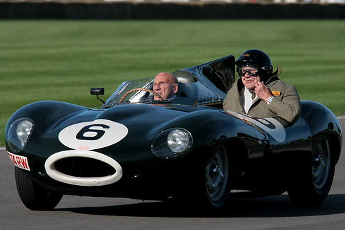 Stirling Moss and Passenger