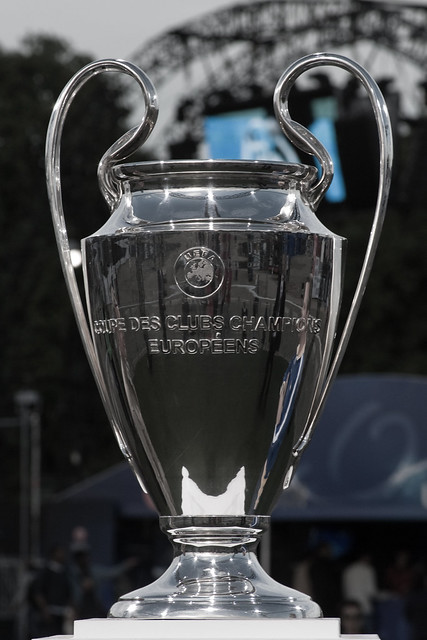 Champions League Final - Wembley - The Trophy