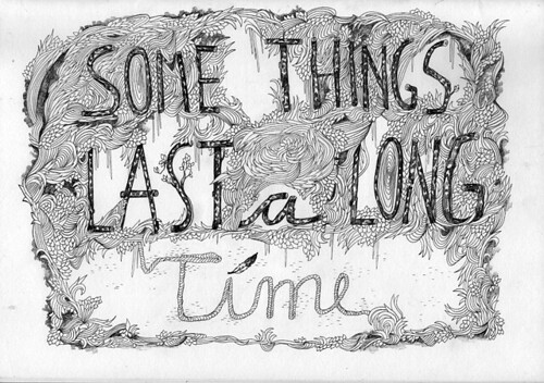 Some Things ... // Sketchbook page