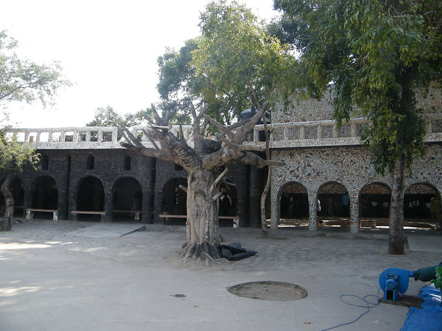 courtyard like area in Sukhna Lake, Chandigarh