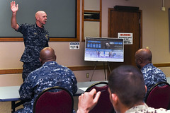 Adm. Scott Swift delivers opening remarks during the Fleet